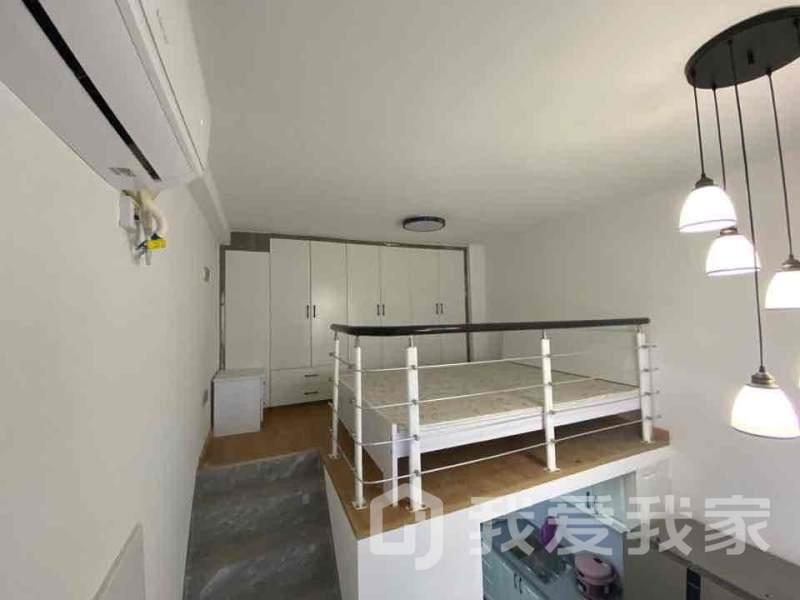 青山湖大镜精装loft两房公寓,家具家电齐全,随时看房